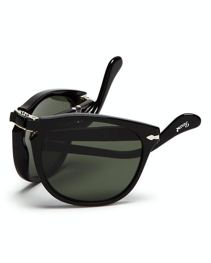Persol Suprema Folding Polarized Keyhole Sunglasses