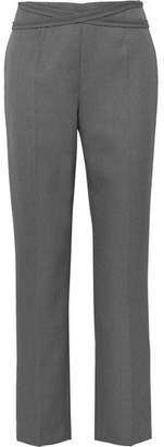 MM6 MAISON MARGIELA Twill Straight-leg Pants - Gray