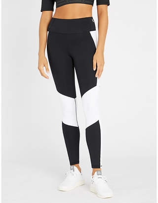 Good American Dual Life high-rise stretch-jersey leggings