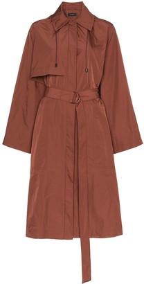 Joseph Dublin belted taffeta trench coat