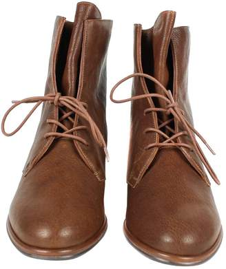 Stuart Weitzman Brown Leather Boots