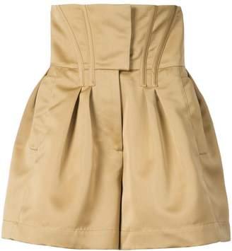 Prabal Gurung Engle corset shorts