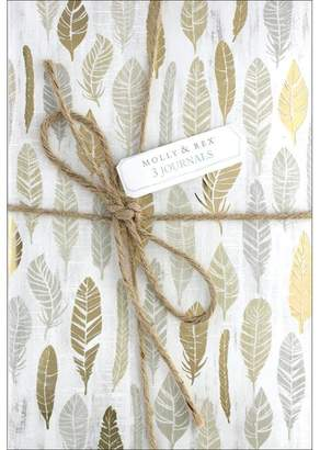 Molly & Rex Twine Journal Trio Bontanical Luxe