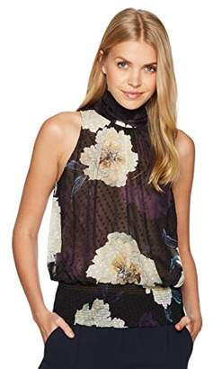 Tracy Reese Women's Smocked Halter in