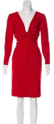 Valentino Virgin Wool Dress