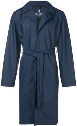 Rains single breasted raincoat