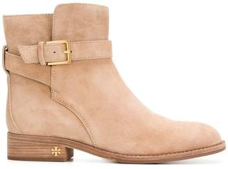 Tory Burch buckled ankle boots