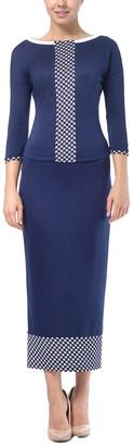 Lila Kass 2Pc Jumper & Skirt Set