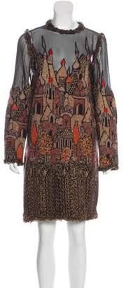 Chanel Paris-Moscou Skyline Dress w/ Tags