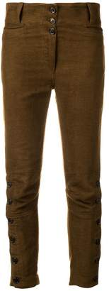 Ann Demeulemeester skinny cropped trousers