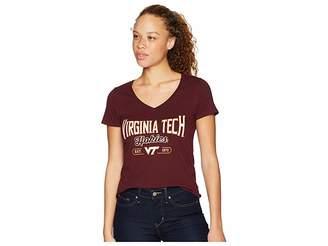 Champion College Virginia Tech Hokies University V-Neck Tee