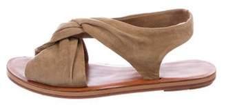 Derek Lam Suede Slingback Sandals