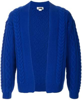 H Beauty&Youth cable knit cardigan