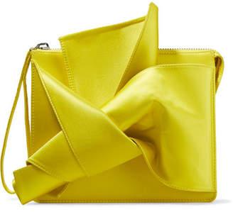 No.21 No. 21 Knot Satin Clutch - Yellow