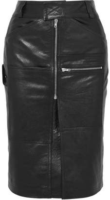 Vetements Leather Skirt - Black