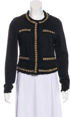 MICHAEL Michael Kors Denim Embellished Jacket