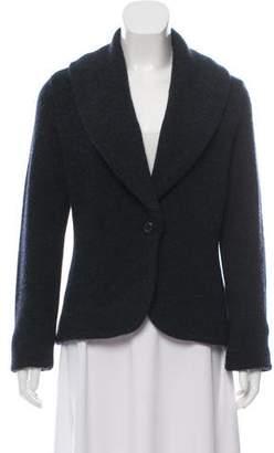 Ralph Lauren Black Label Cashmere & Wool Single-Button Cardigan w/ Tags