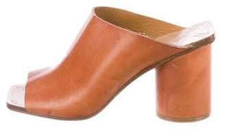Maison Margiela Leather Slide Sandals