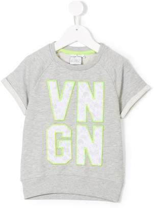 Vingino shortsleeved patch sweatshirt