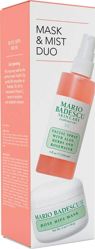 Mario Badescu Rose Mask and Mist Duo