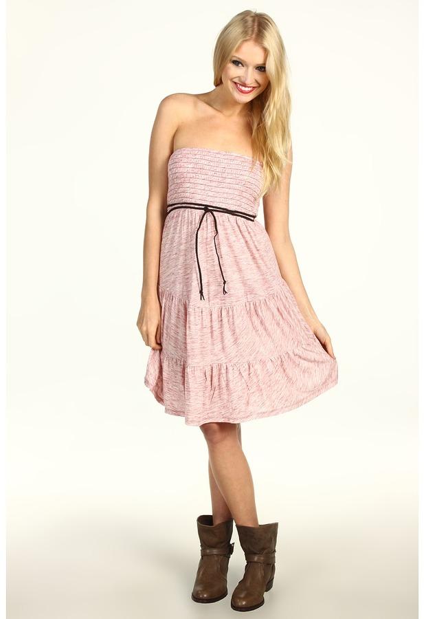 Roxy Lake Front Tube Dress (Juniors) (Fireside) - Apparel