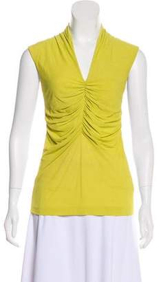 Etro Ruched-Accented Sleeveless Top