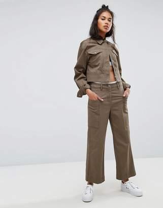 Calvin Klein Jeans Wide Leg Culotte