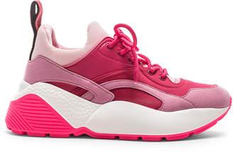 Stella McCartney Eclypse Lace Sneakers in Rose & Fuchsia | FWRD
