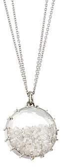 Renee Lewis 18K White Gold & Diamond Circle Shake Necklace
