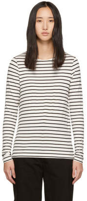 A.P.C. Black and White Beauvoir T-Shirt