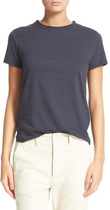 Women's Vince Pima Cotton Tee $75 thestylecure.com