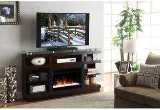 """Wade Logan Emanuel TV Stand for TVs up to 65"""" with Fireplace"""
