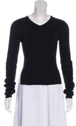 Theyskens' Theory Cashmere Long Sleeve Top