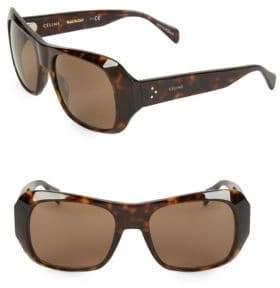 Celine CL400491 56MM Polarized Square Sunglasses