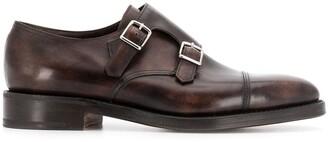 John Lobb buckle monk shoes