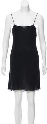 Alberta Ferretti Mini Slip Dress