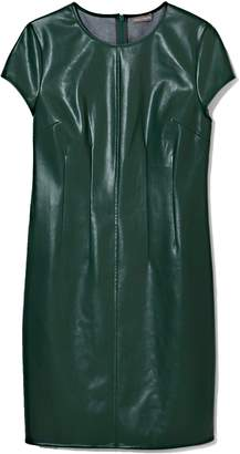 Vince Camuto Faux Leather Dress