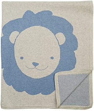 Barneys New York Lion Cotton-Cashmere Baby Blanket