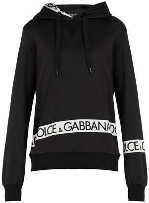 Dolce & Gabbana Logo-print hooded sweatshirt