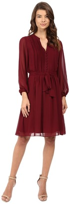 Christin Michaels Gallaway Shirtdress $68 thestylecure.com