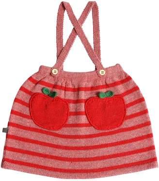 Oeuf Apple Alpaca Knit Skirt W/ Suspenders