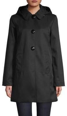 Kate Spade Peter Pan Collar Snap Coat