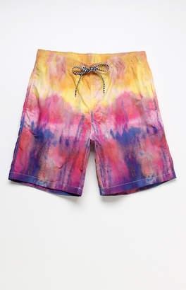 "Trunks T&C Surf Designs Tie-Dyed 18"" Swim"