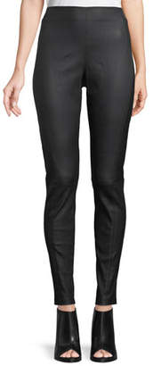 Elie Tahari Trina Leather Leggings
