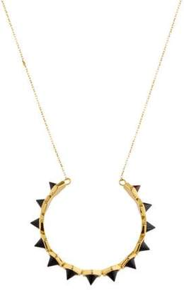 Rachel Zoe Cleo Spike Pendant Necklace