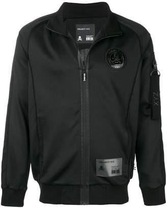 Philipp Plein classic rain jacket