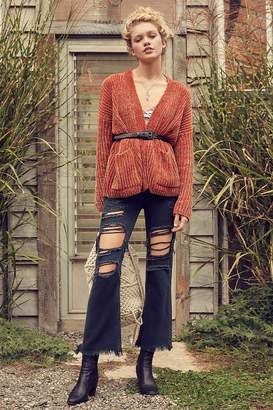 BDG Kick Flare High-Rise Cropped Jean – Button Fly