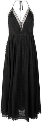 DAY Birger et Mikkelsen Charo Ruiz plunge halter maxi dress