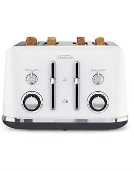 Sunbeam Ta2740W Alinea 4 Slice Toaster - Ocean Mist White