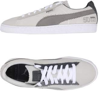 Puma Gray Soft Leather Men s Shoes  a2f925ea9